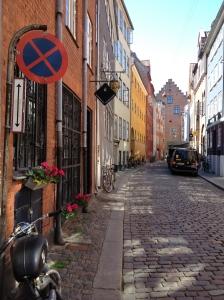 Oldest street in Copenhagen.